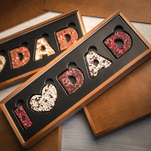 I LOVE DAD - Dark Chocolate